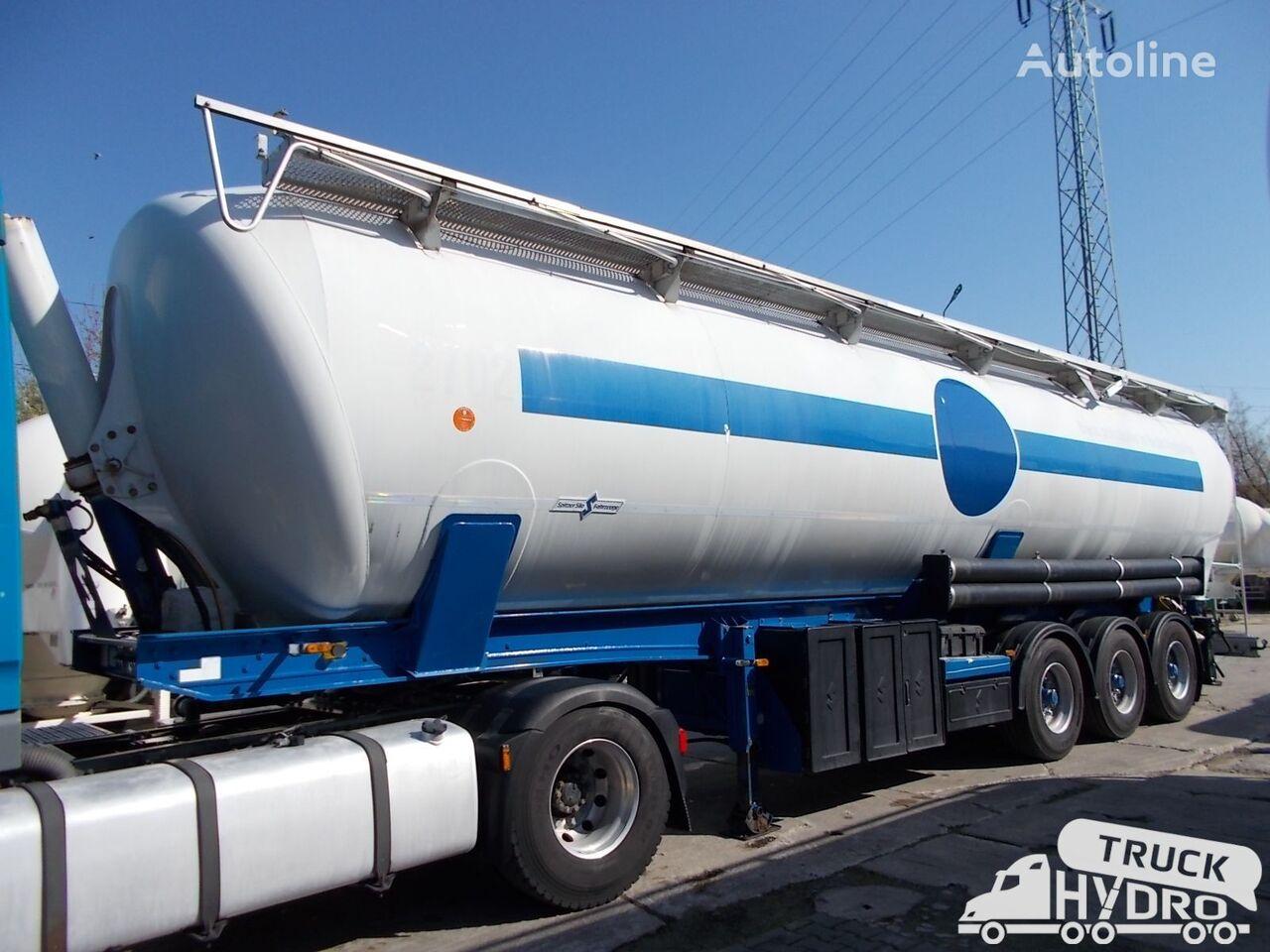 SPITZER SK2760CAL - Własna hydraulika HS24V silo tank trailer