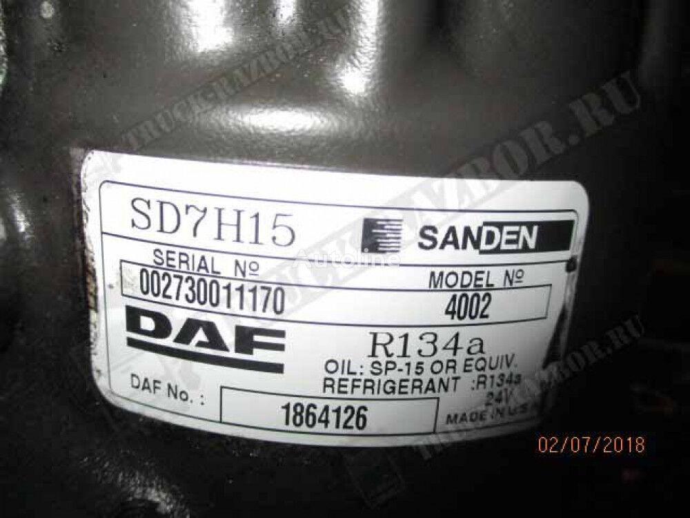 AC compressor for DAF tractor unit