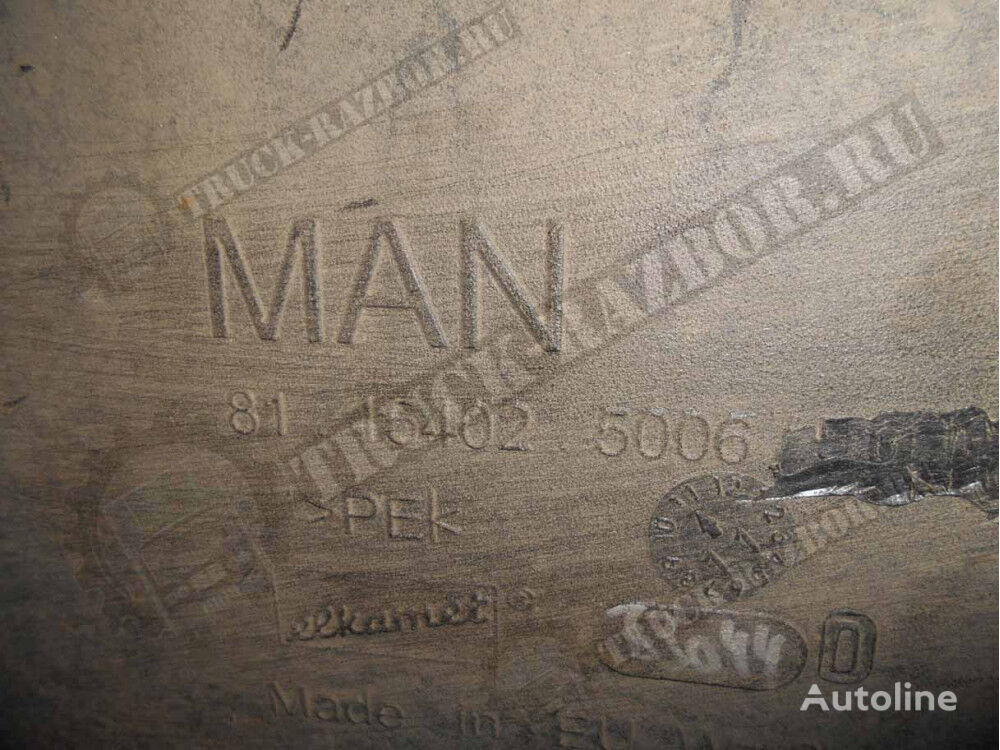 AdBlue tank for MAN tractor unit
