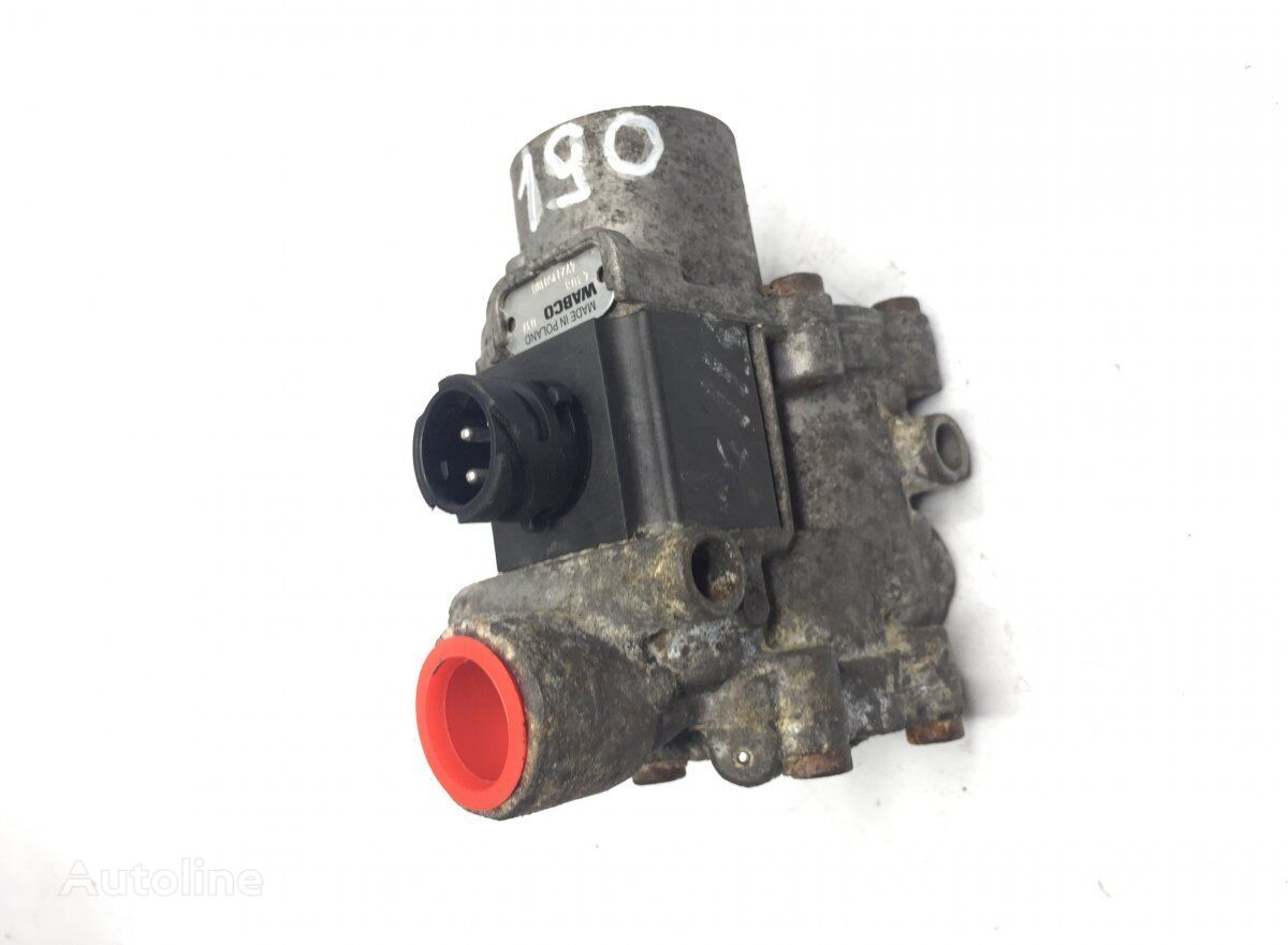 WABCO ABS Valve, Front Axle Right (1934975 1453761) EBS modulator for SCANIA 3-series 93/113 bus (1988-1997) tractor unit