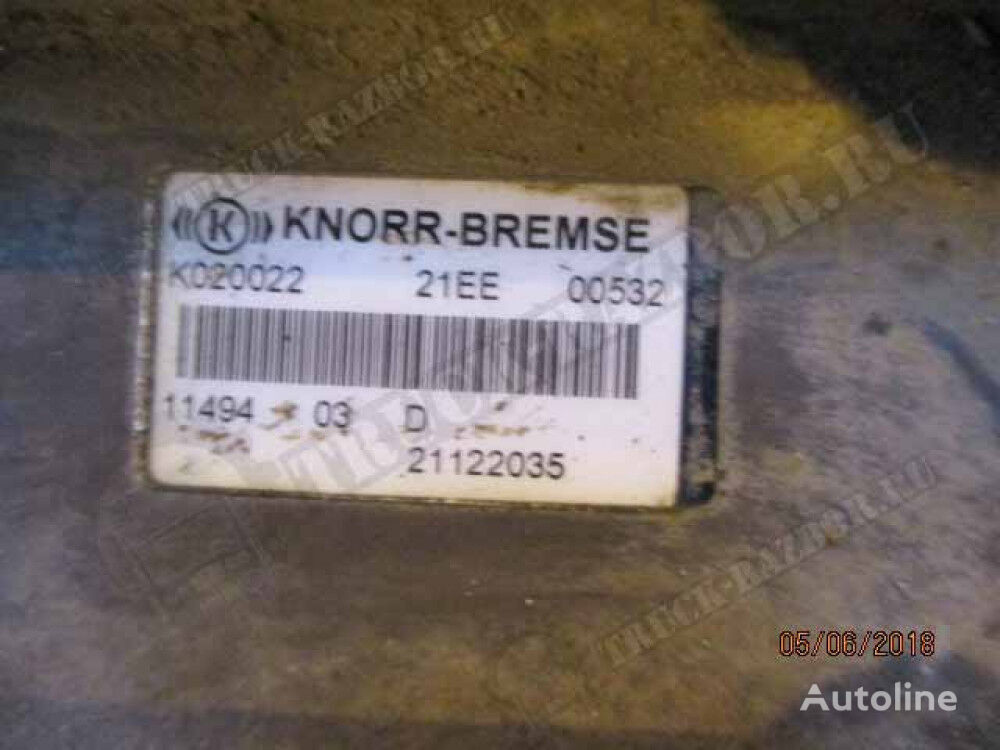 KNORR-BREMSE EBS modulator for VOLVO tractor unit