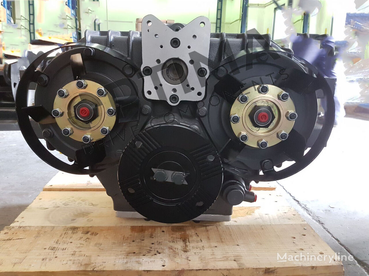 new OPTIMA OPS-331 Omsi type PTO for sewer jetter truck