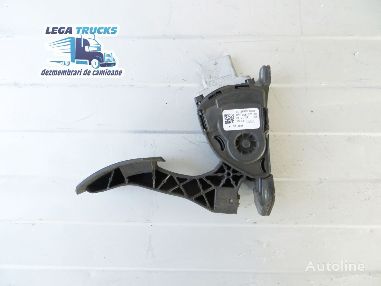 MAN accelerator pedal for tractor unit