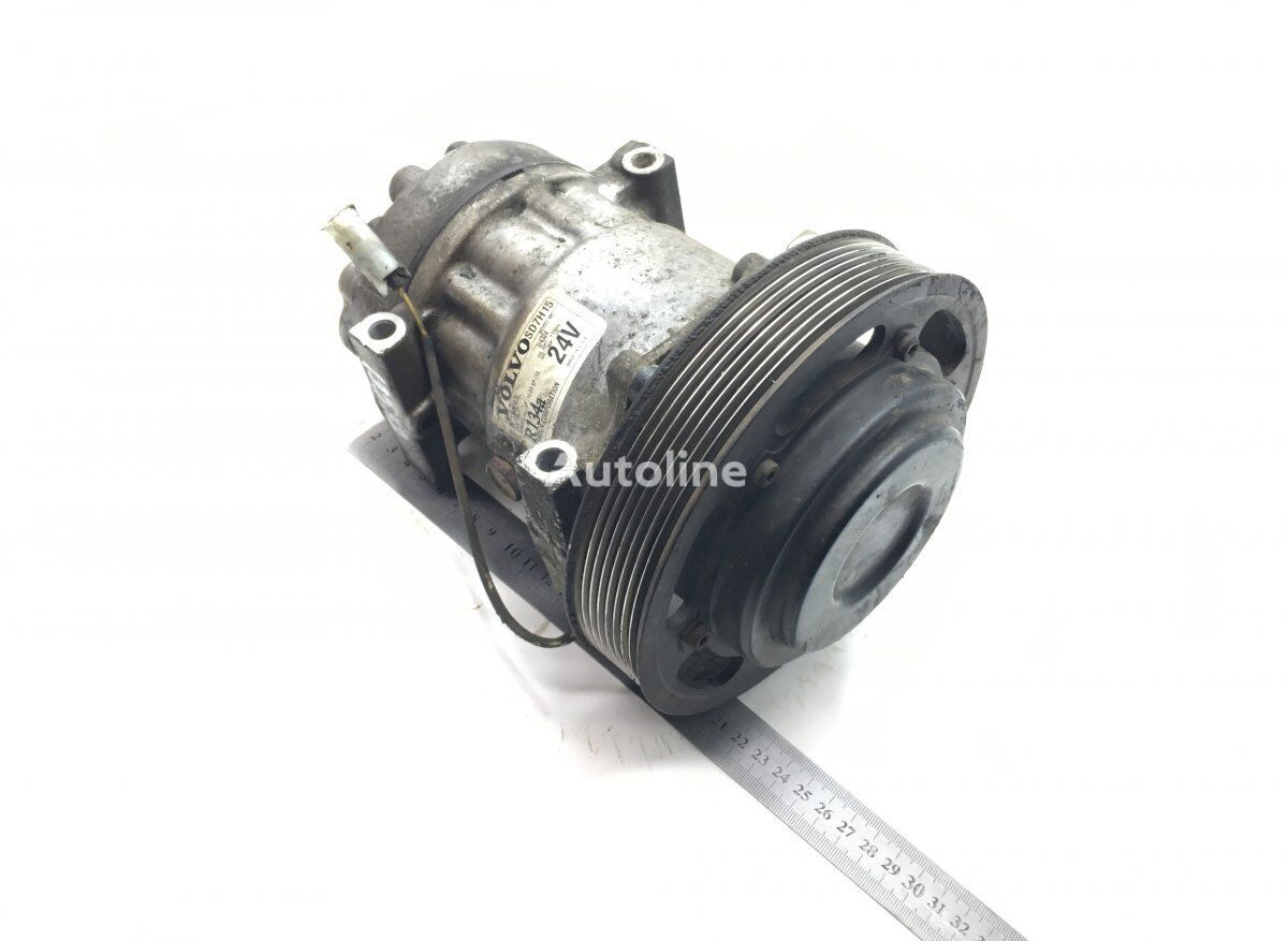 SANDEN FH (01.05-) (SD7H15-4324) air conditioning condenser for VOLVO FM/FH (2005-2012) tractor unit