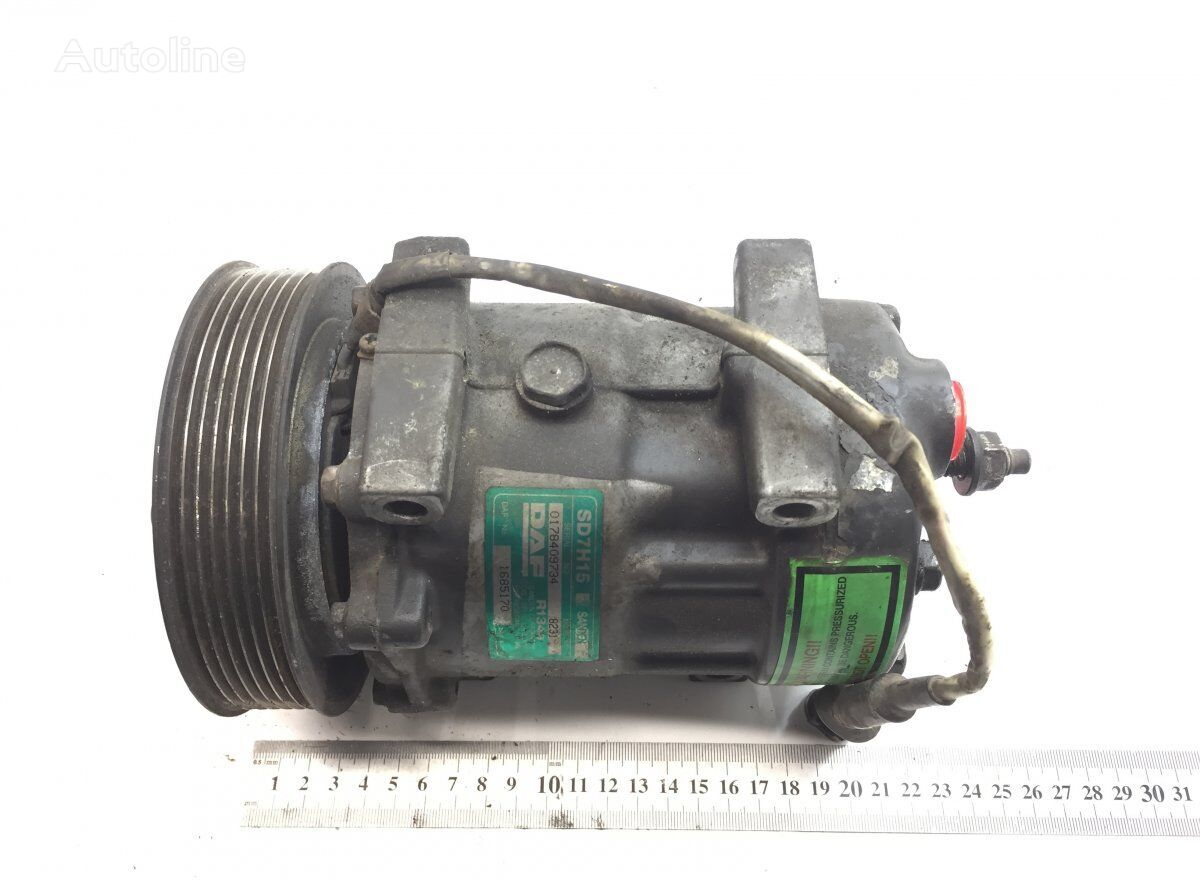 SANDEN XF105 (01.05-) (SD7H15-8231) air conditioning condenser for DAF XF95/XF105 (2001-) tractor unit