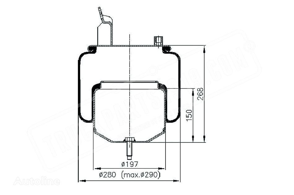 new VOLVO DT (20582209) air spring for VOLVO truck