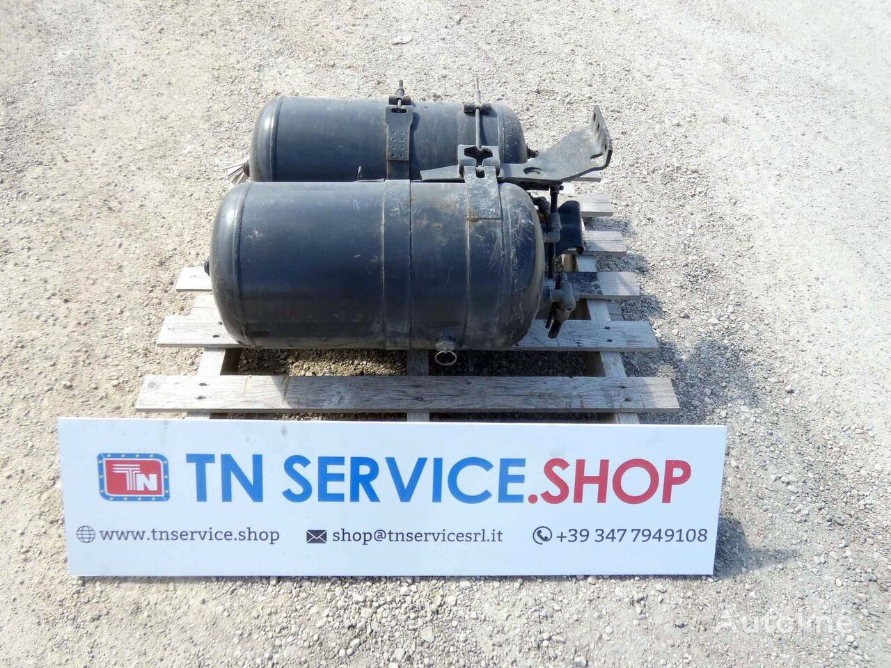 air tank for tractor unit