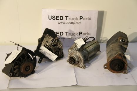 MAN alternator for MAN tractor unit