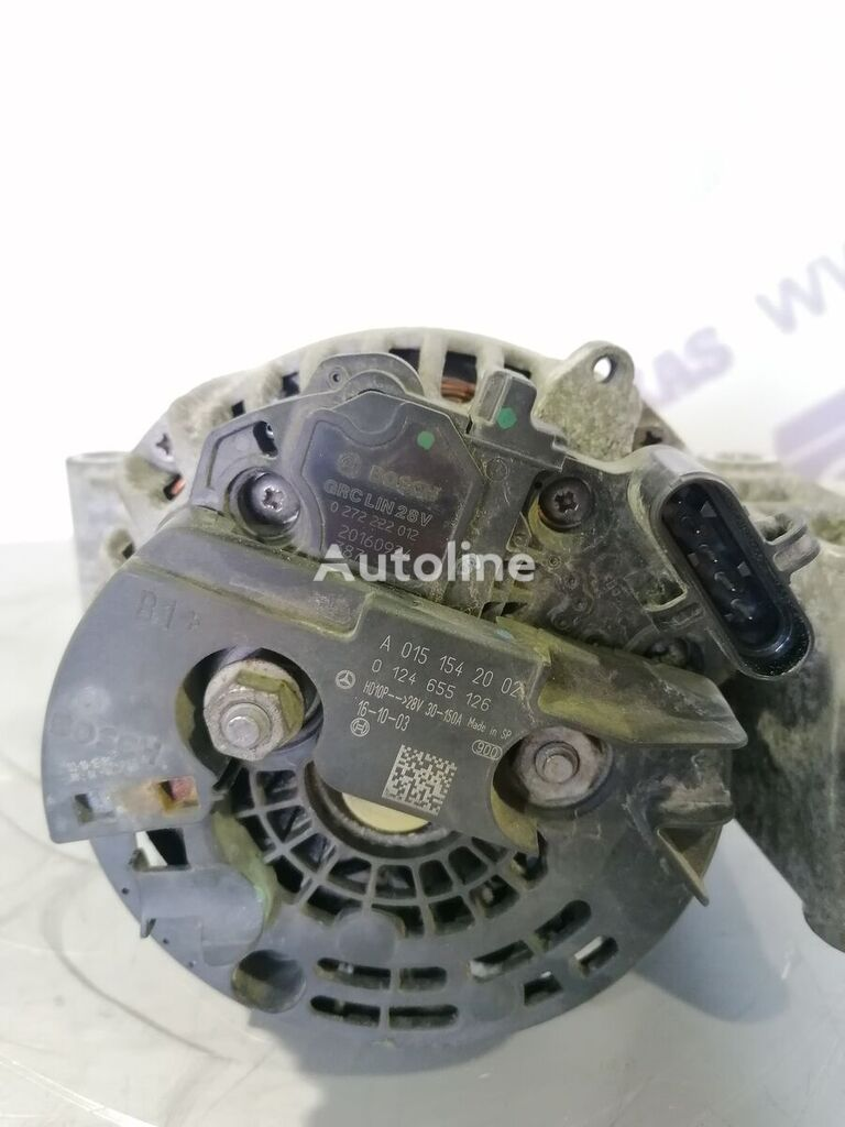 (A0151542002) alternator for MERCEDES-BENZ mp4  tractor unit
