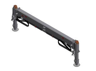 Estabilizadores traseros con vigas opuestas (ETOH-1) anti-roll bar for loader crane