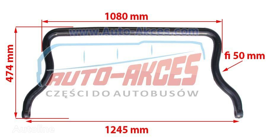 new SETRA Stabilizator przód 431DT Rod stabilizer (A4103230165) anti-roll bar for SETRA 431DT bus