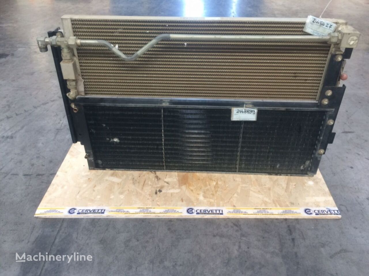 automobile air conditioning for CATERPILLAR 962H N4A00198 wheel loader