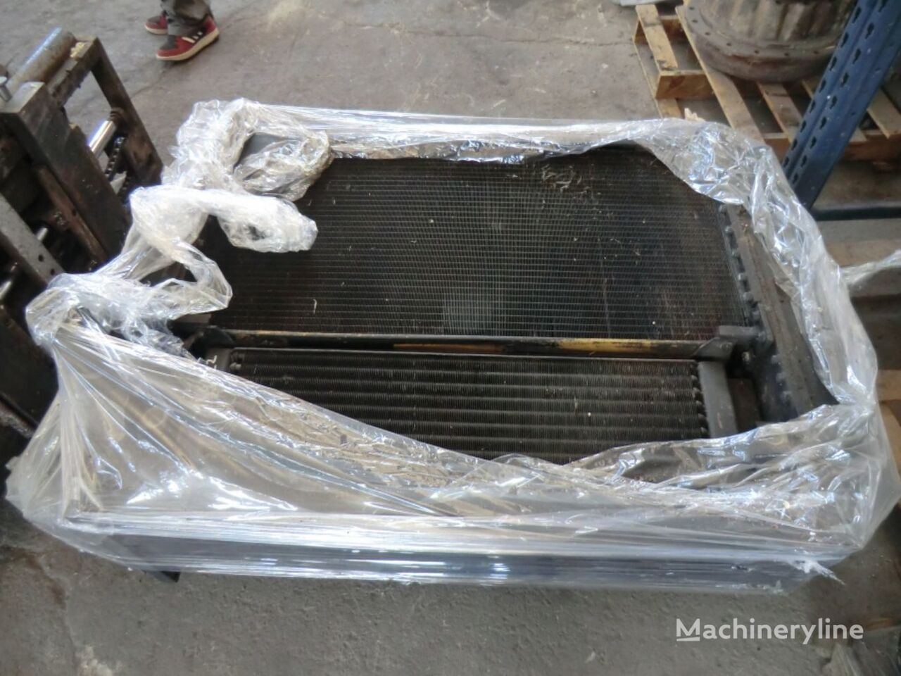 AIR CONDITIONING CONDENSER automobile air conditioning for CATERPILLAR 963C 2DS01270 wheel loader