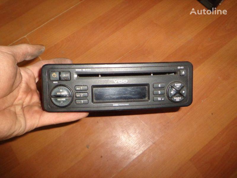 VDO CD413. 12V. CD. autoradio for truck