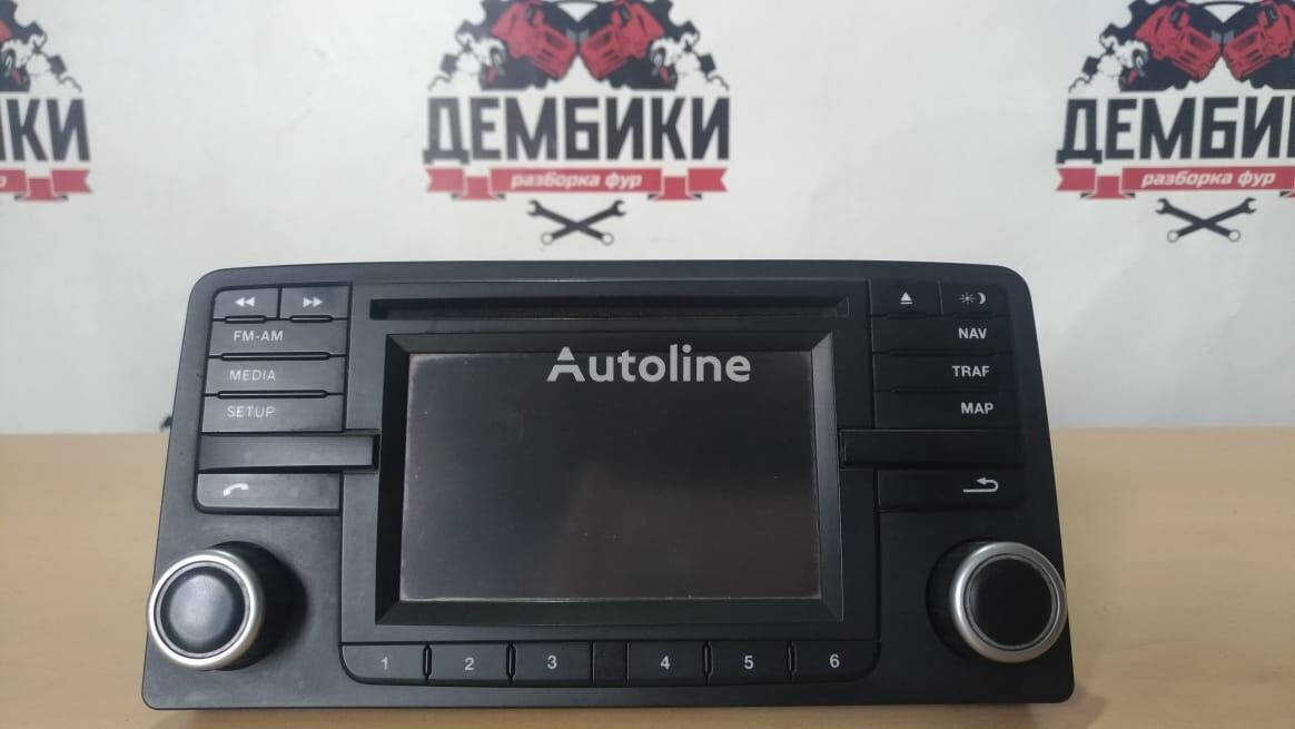 MAN Magnitola (multimediya+navigaciya) autoradio for MAN TGX truck