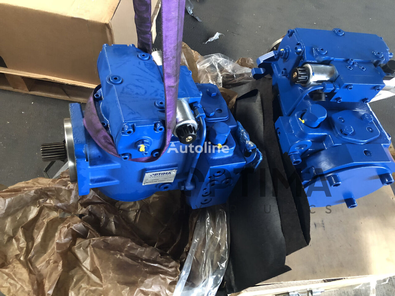 new OPTIMA REXROTH type axial piston pump for other municipal vehicles