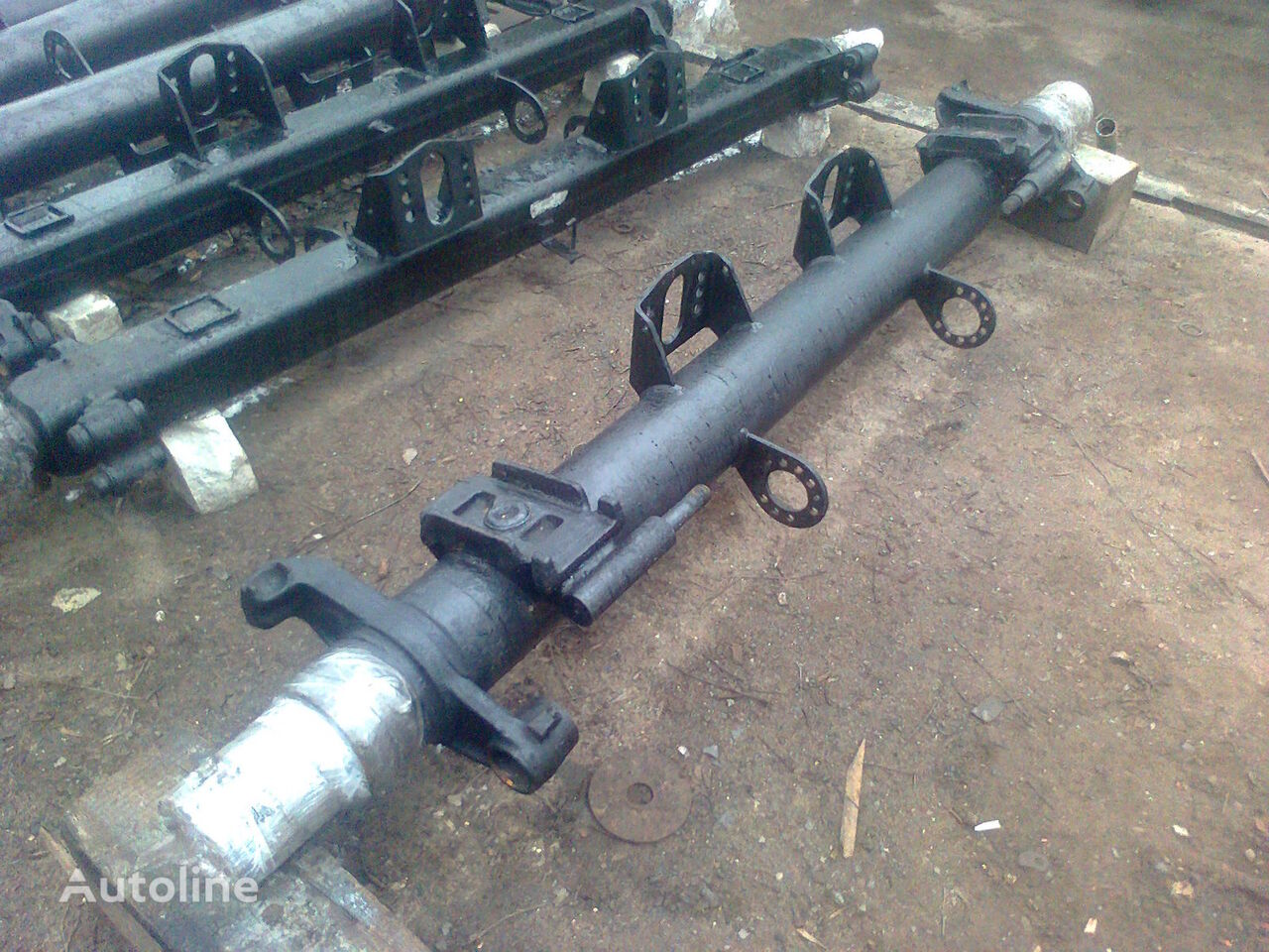 SAF(blok-podshypnik) axle for semi-trailer