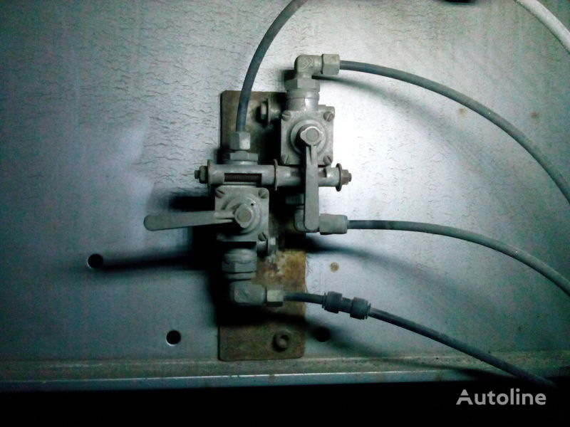 new mehanizm podema osi, podemnaya os axle for semi-trailer