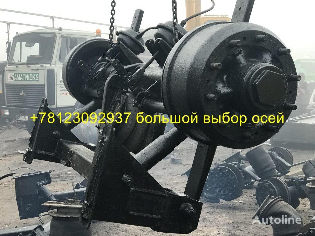 SMB barabannaya axle for semi-trailer