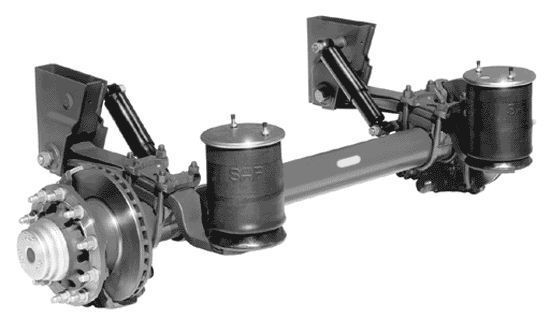SAF axle for BODEX semi-trailer