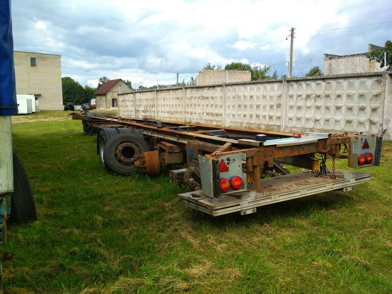 BPW axle for BPW semi-trailer