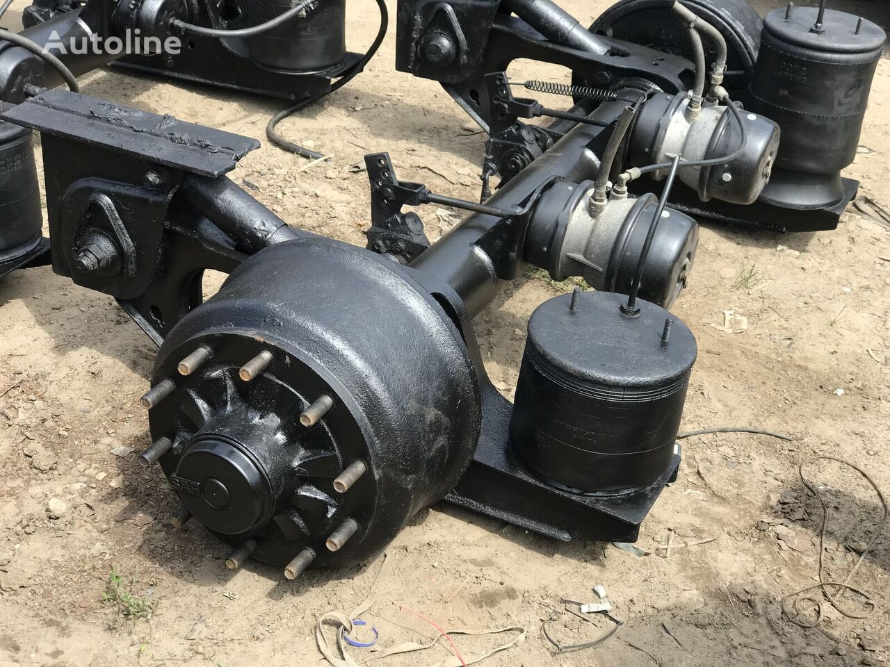 BPW ECO-P axle for semi-trailer for parts