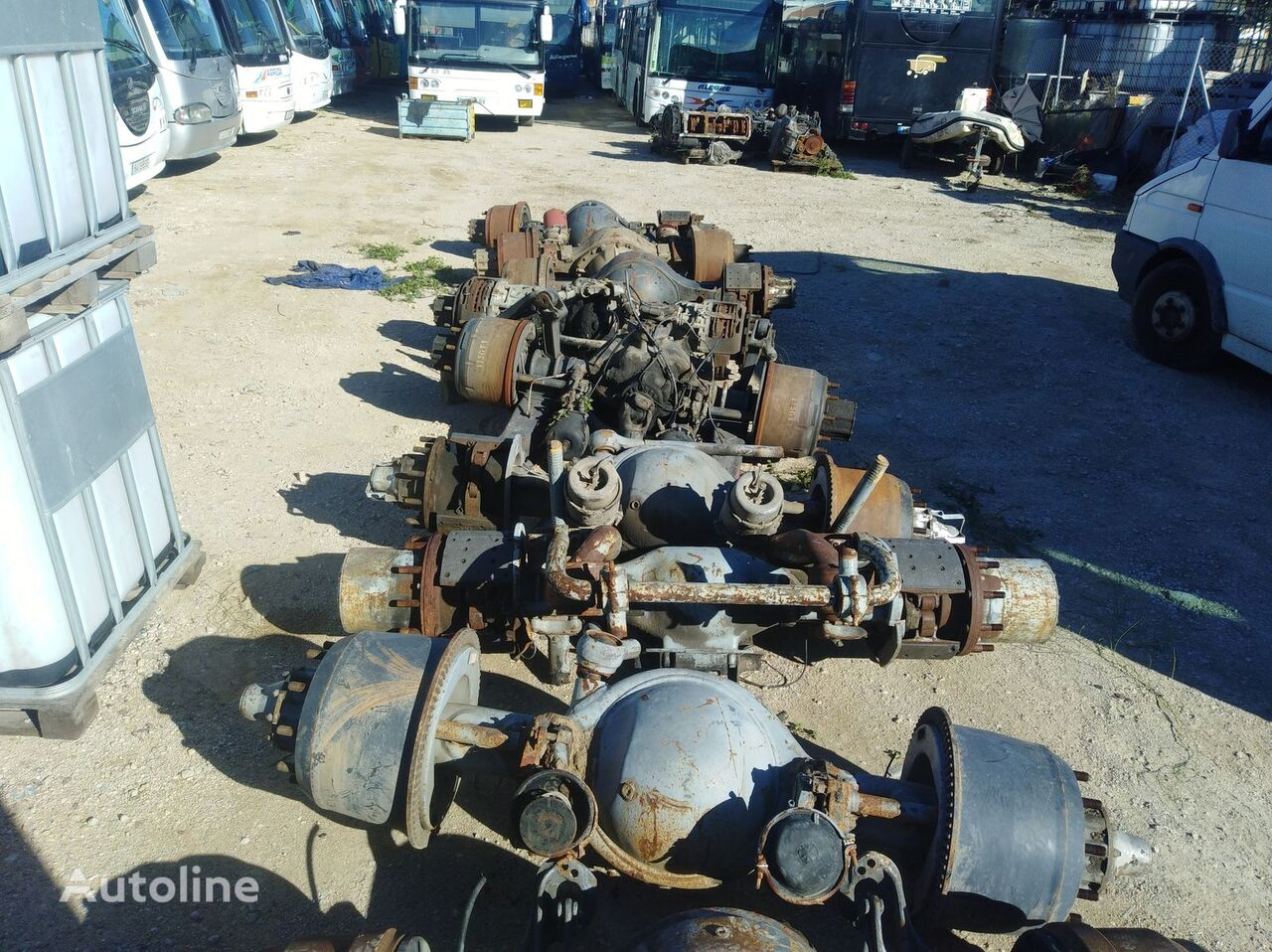 DAF axle for bus