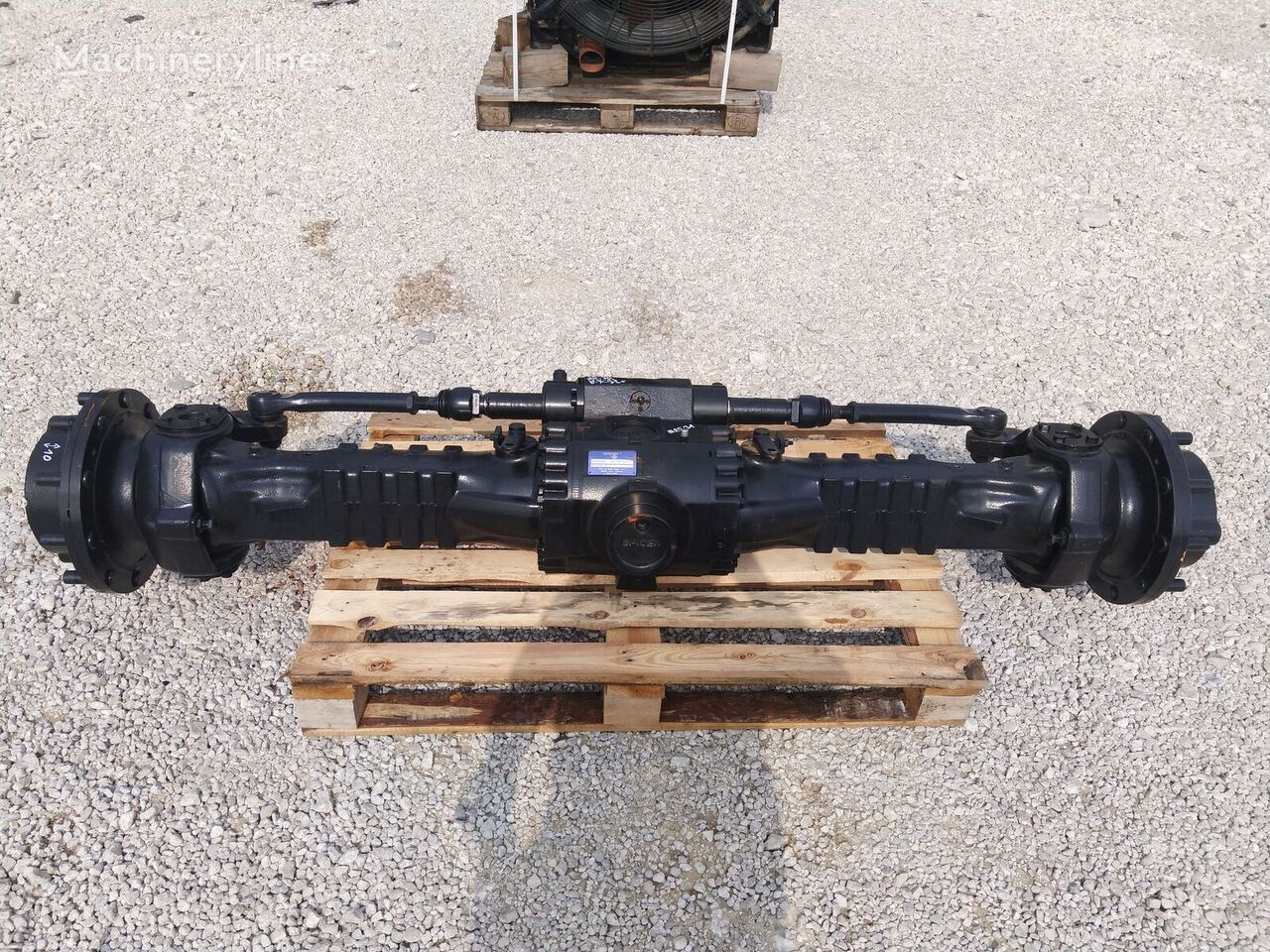 new Dana [P-14 S-4×27 W-71 SZ-10] Axle ach axle for MANITOU Spicer 212/304-004  wheel loader