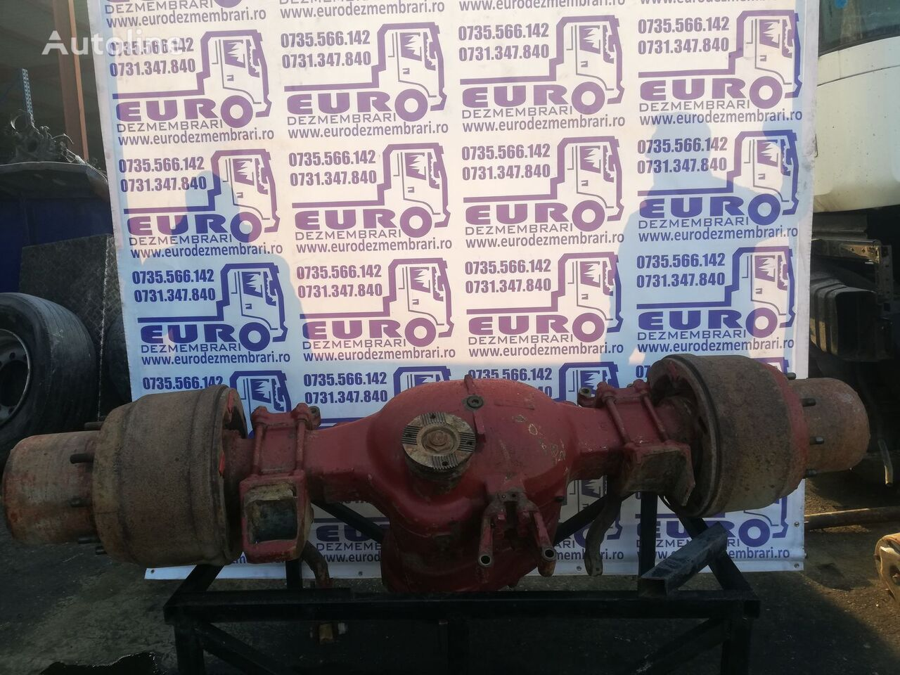 IVECO Trakker 8x4 axle for IVECO truck