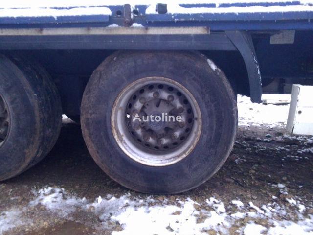BPW ECO Plus axle for KRONE SDP 27 semi-trailer