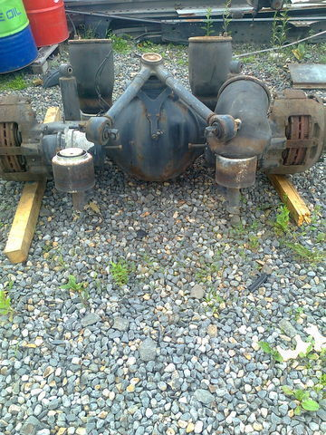 HY1350 axle for MAN TGA