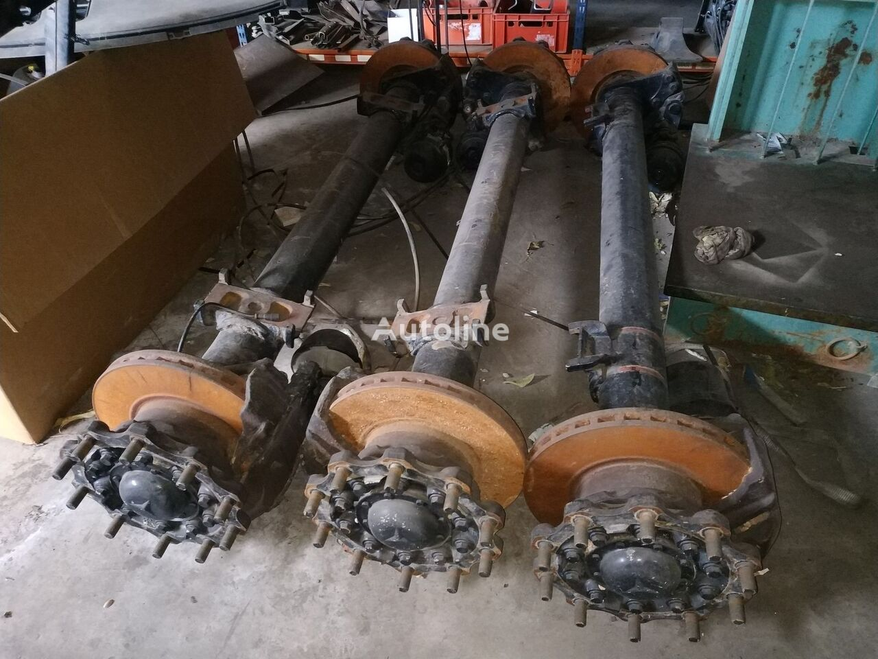 MERCEDES-BENZ axle for truck