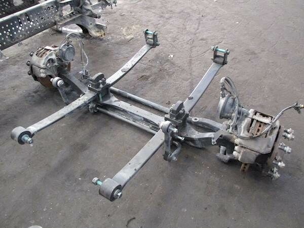 MERCEDES-BENZ F-7.5/C22.5 axle for MERCEDES-BENZ Actros MP4 truck