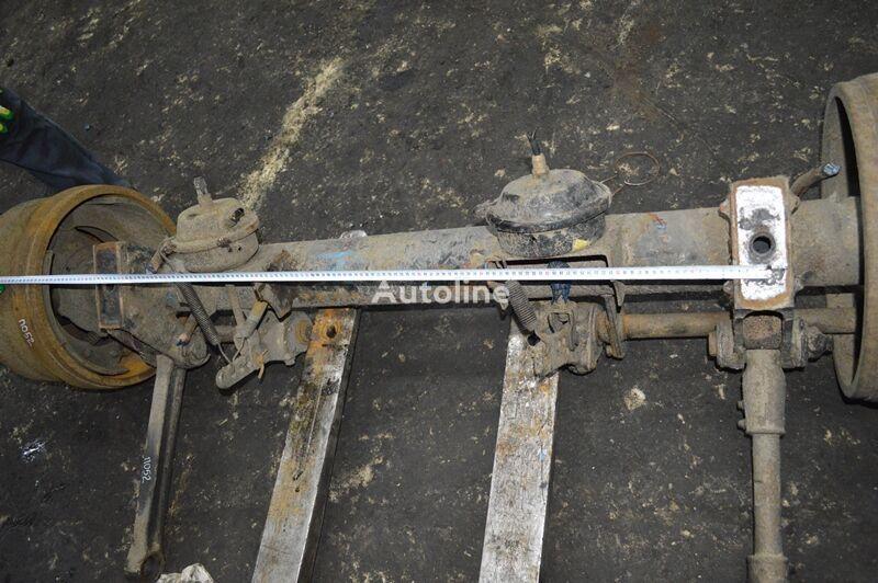 ROR 0 (01.60-) axle for PIACENZA GENERIC trailer