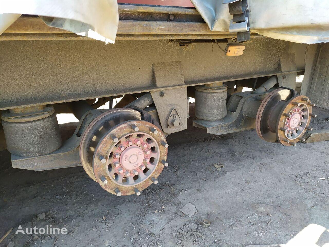 SAF axle for semi-trailer