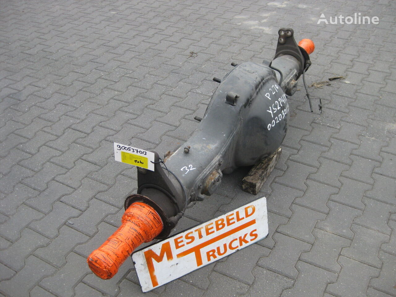 Achterasbanjo axle for SCANIA  R660 truck