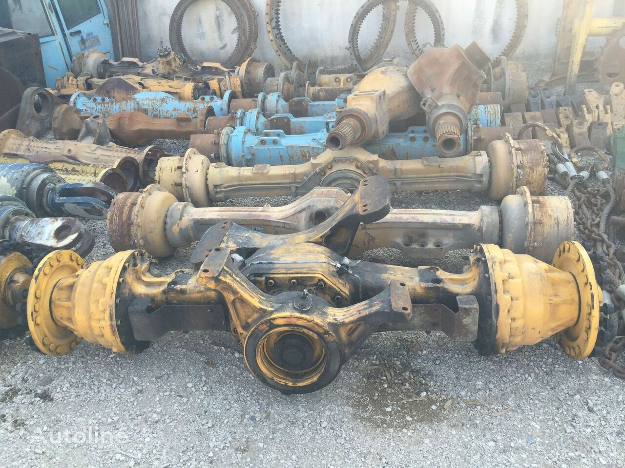 USED VOLVO L120F L110F L110G L120G WHEEL LOADER DIFFERENTIAL axle for VOLVO L120 F / L110 F / L110 G / L120 G wheel loader