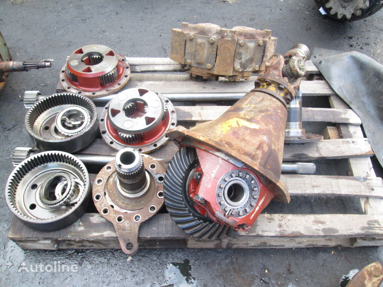 ZF AP-5/DK (parts) axle for wheel loader