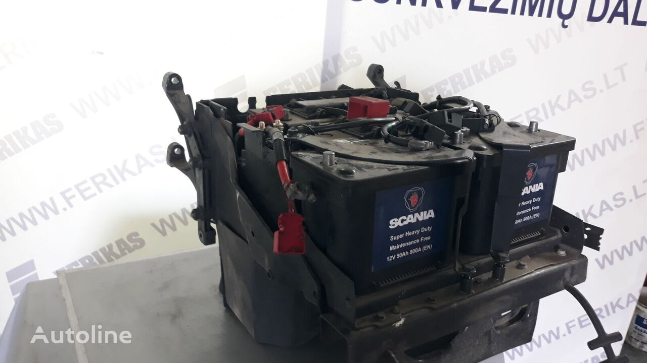 SCANIA (2160772, 2160773) battery box for SCANIA R tractor unit