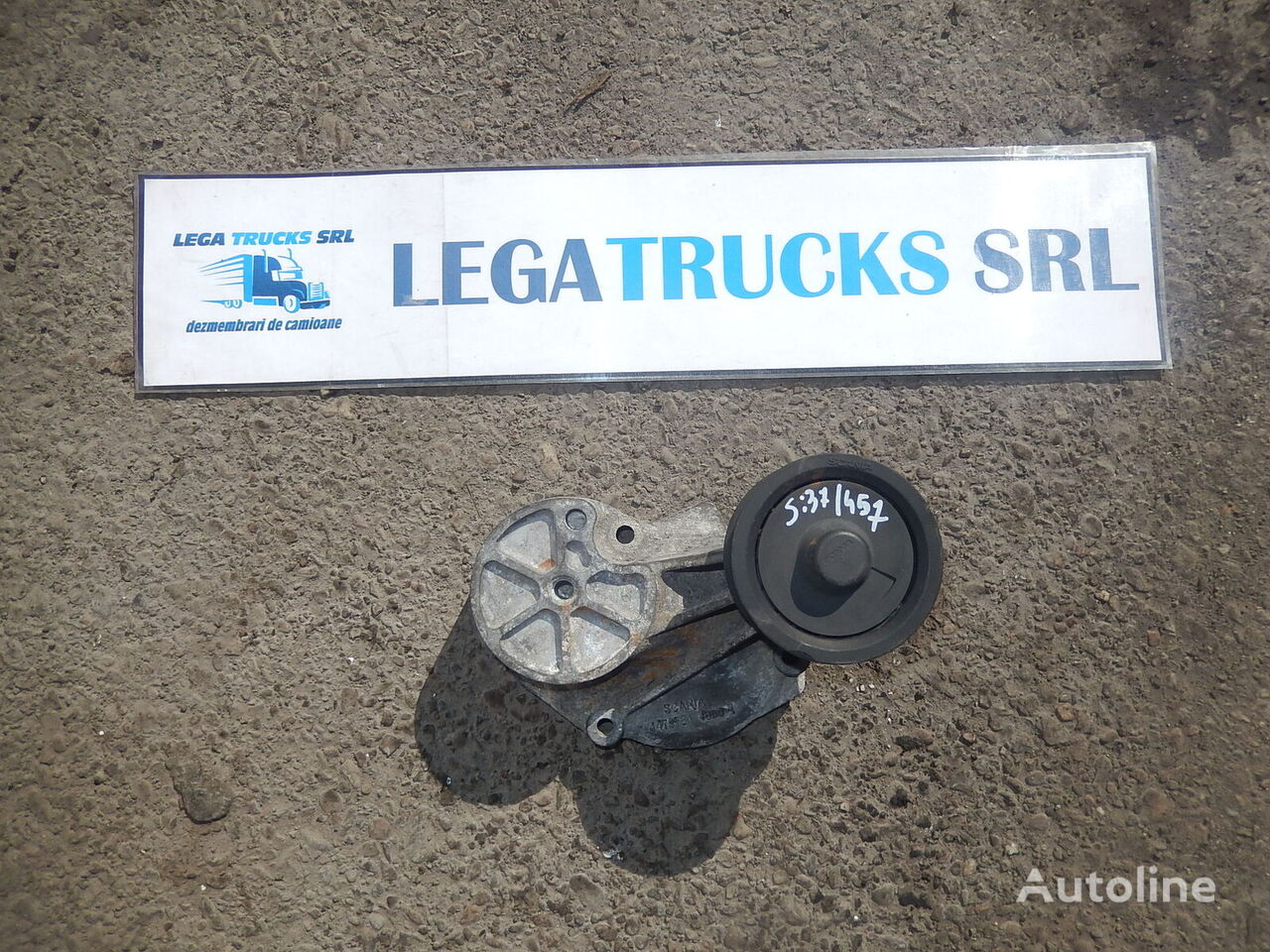 belt tensioner for SCANIA G tractor unit