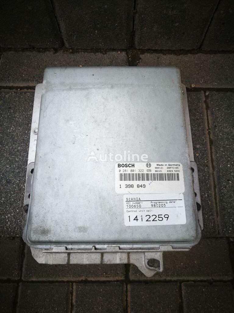 BOSCH board computer for SCANIA 144 , 1412259 truck