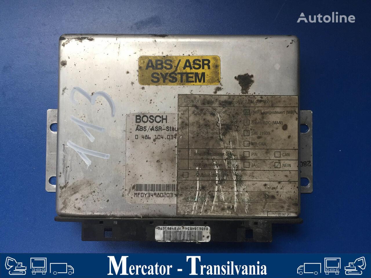 BOSCH Bordcomputer für ABS/ASR SYSTEM board computer for MERCEDES-BENZ O 550 / Integro bus