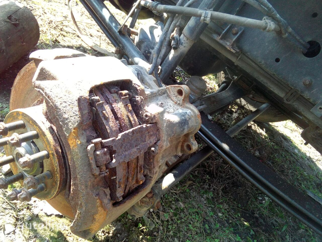 brake caliper for MAN tgl 12.240 truck