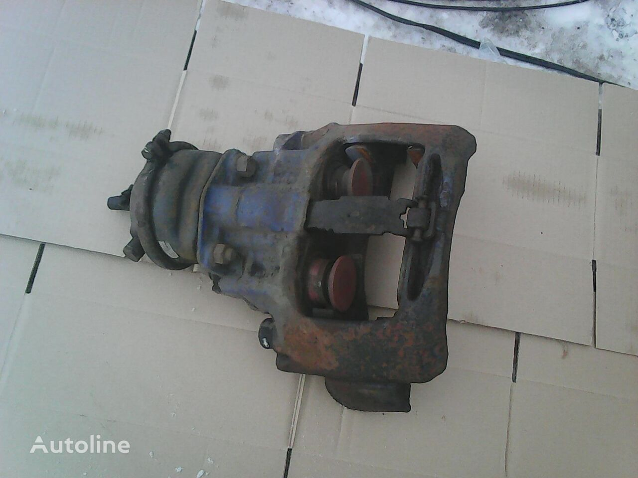 BPW brake caliper for semi-trailer