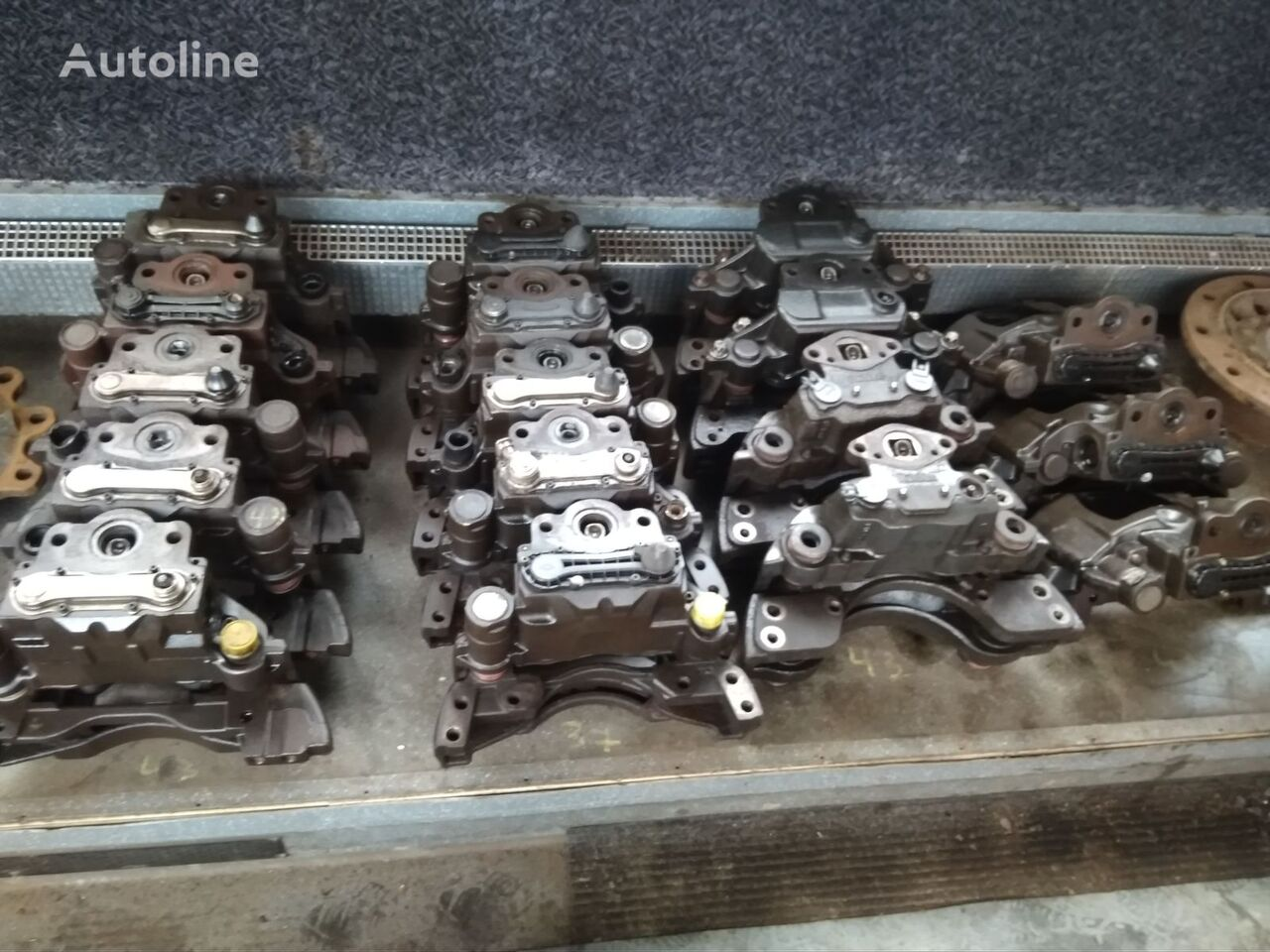 HALDEX KNORR BREMSE,MERITOR (19) brake caliper for trailer