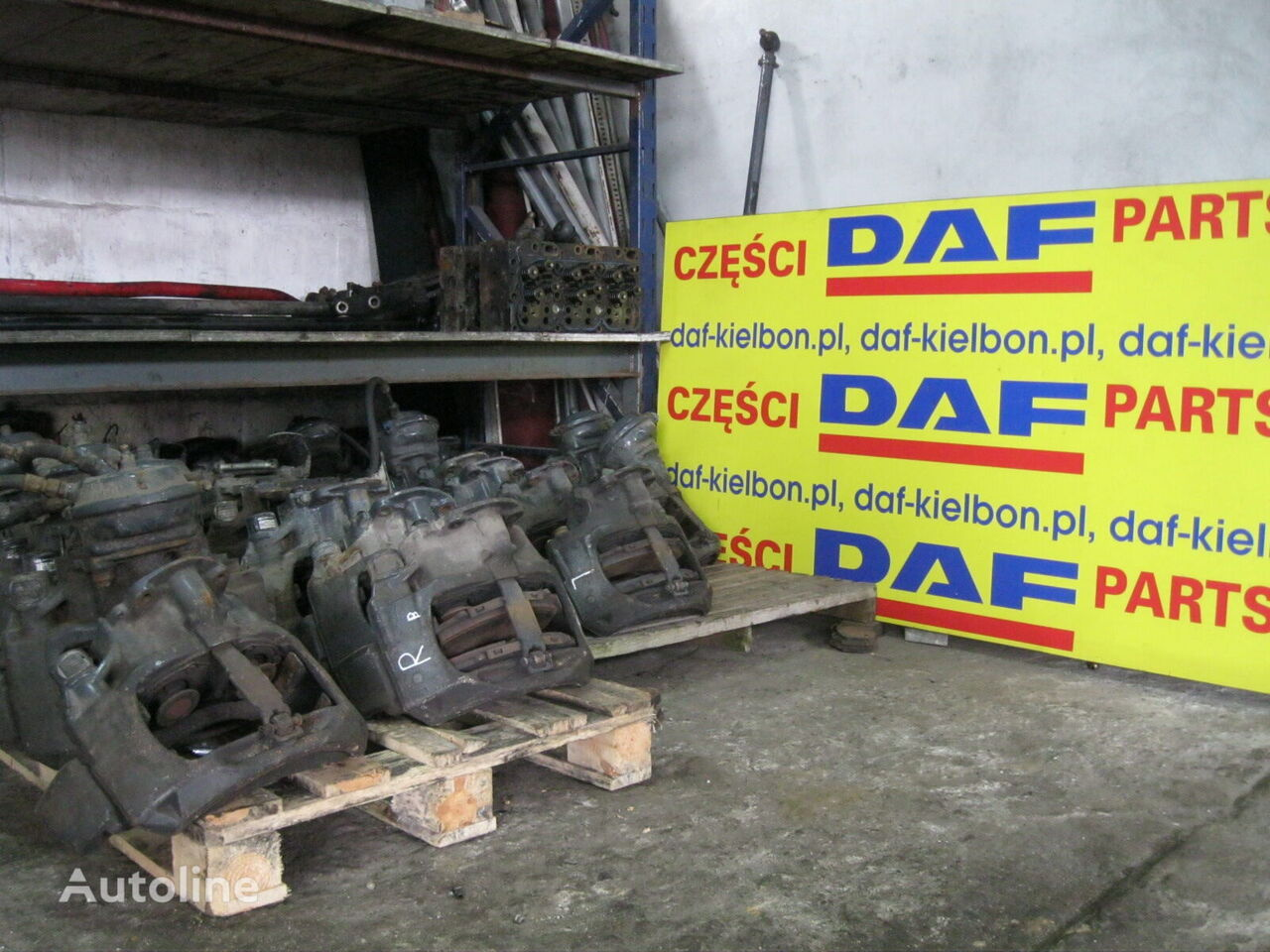 KNORR-BREMSE NOWY I STARY TYP brake caliper for DAF XF 105  tractor unit