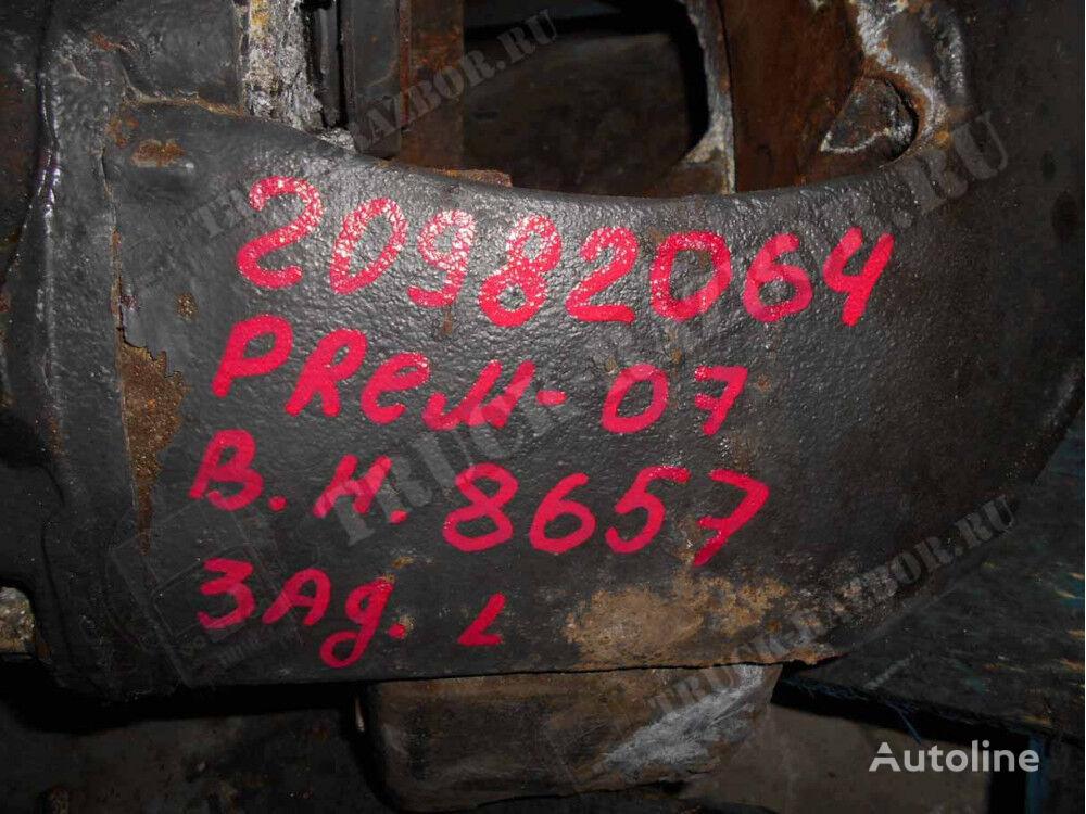 L brake caliper for tractor unit
