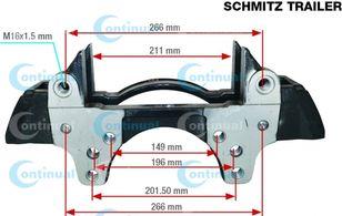 SCHMITZ CARGOBULL K012634.SK7052RC (K007475) brake caliper for SCHMITZ CARGOBULL semi-trailer