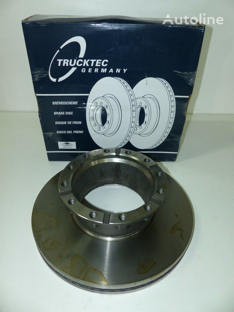 new KNORR-BREMSE BREMSSCHEIBE TRUCKTEC (2992477) brake disk for IVECO STRALIS tractor unit
