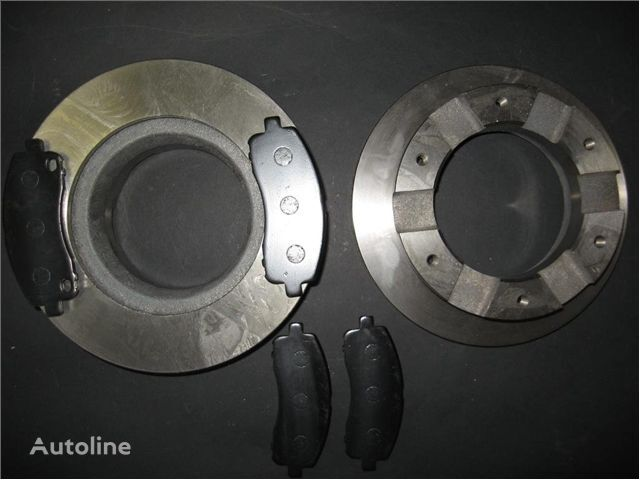 new - BRAKE KIT (RR): BRAKE DISCS + PADS - brake disk for MITSUBISHI TARCZE HAMULCOWE + KLOCKI TYŁ MITSUBISHI FUSO 35 TARCZE truck